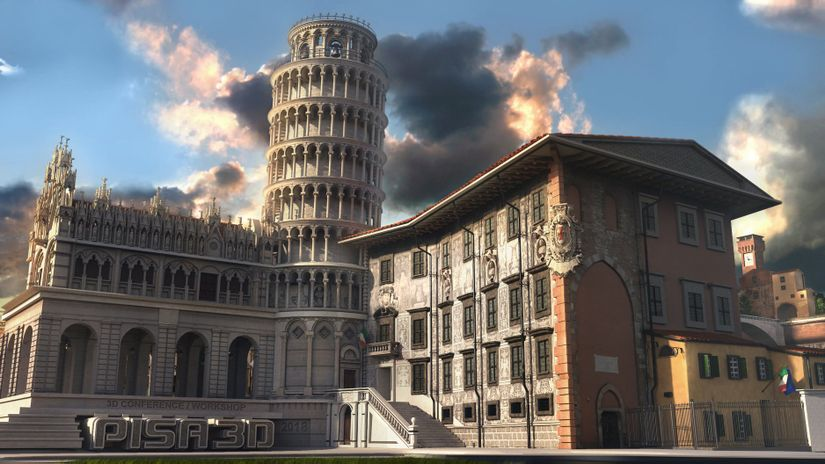 Pisa 3D - 27 e il 28 ottobre 2018