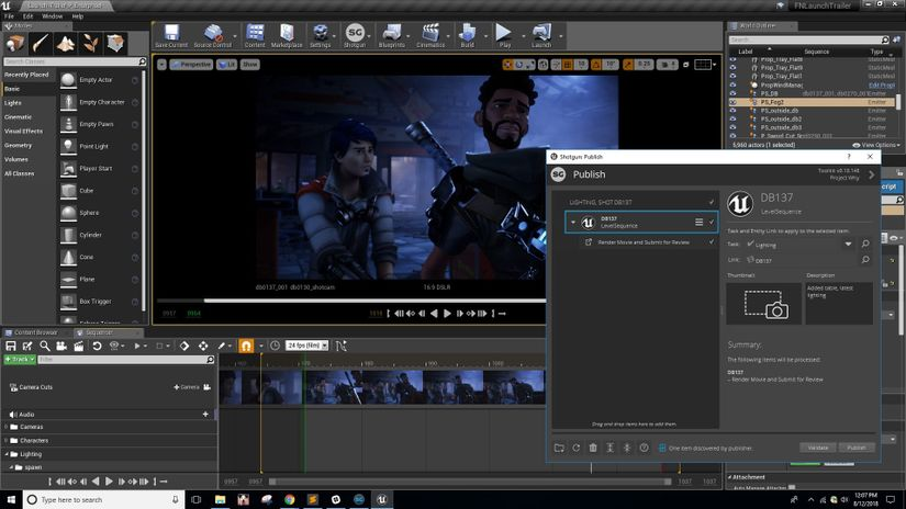L'integrazione con Shotgun è ora disponibile in Unreal Engine 4.20