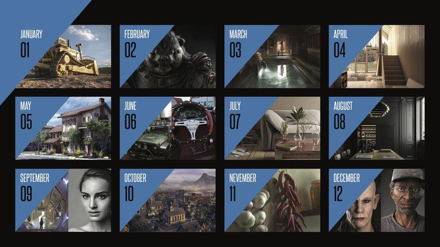 Calendario Treddi.com - 2017 - Free Download