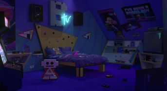 Evil Bratt Room da Despicable Me 3