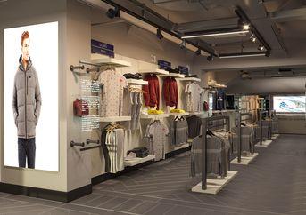 Progettazione illuminotecnica per lo store Robe di kappa a Torino