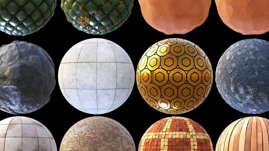 Material Pack Stylized 03 - Free Download