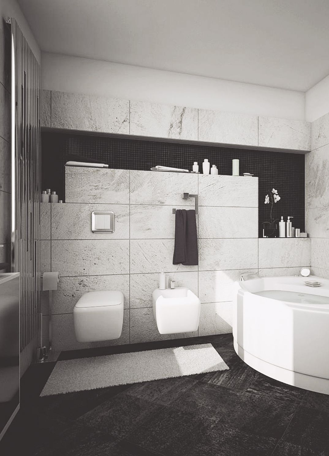 Modern Bathroom Project for