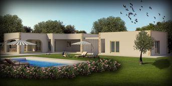 Modellazione, Rendering e Post-produzione di una villa in Salento