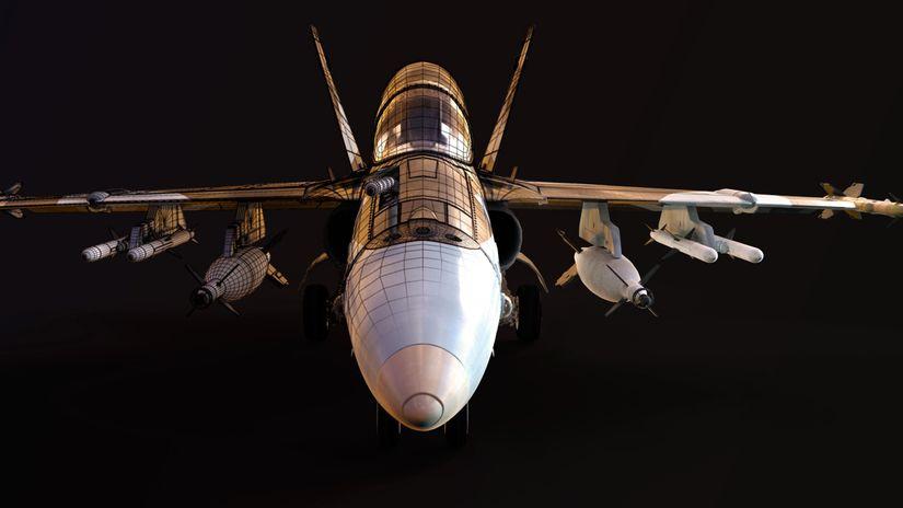 Making Of - F18 Hornet