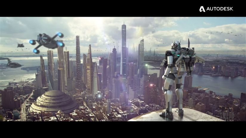 Autodesk 2016 VFX Showreel