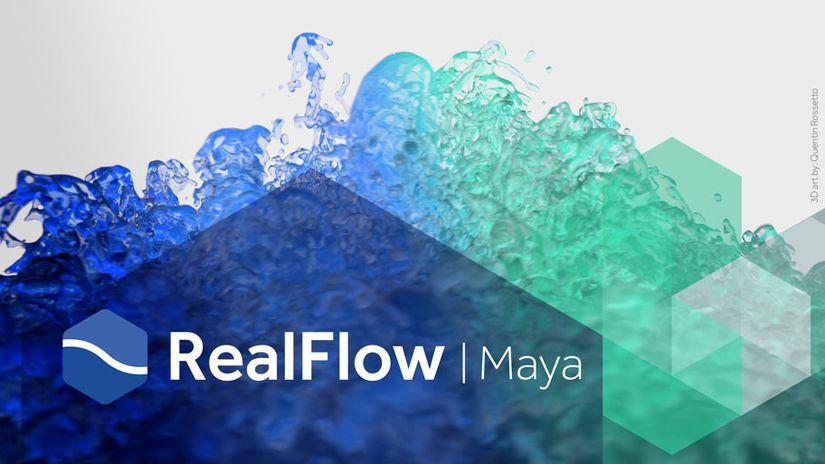 RealFlow per Maya 1.0