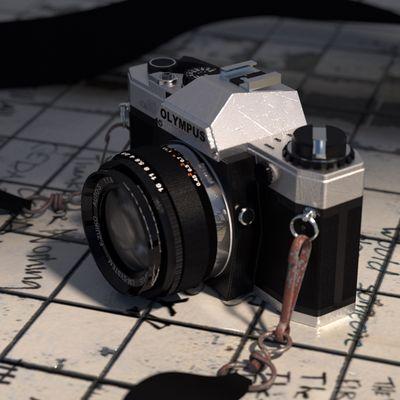 My old olympus camera