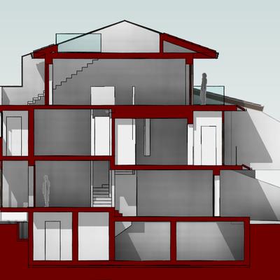 Presentazione progetti architettonici.