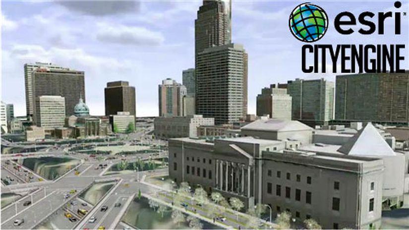 CityEngine 2015