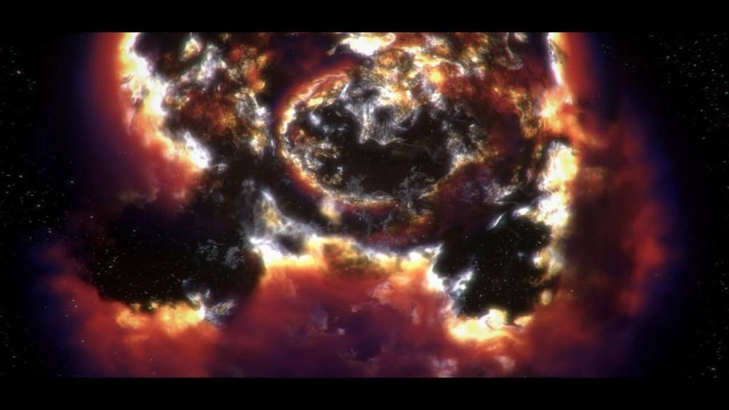 Houdini RnD: Nebulas and Galaxies
