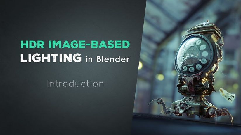 HDR Image-Based Lighting Workflow in Blender