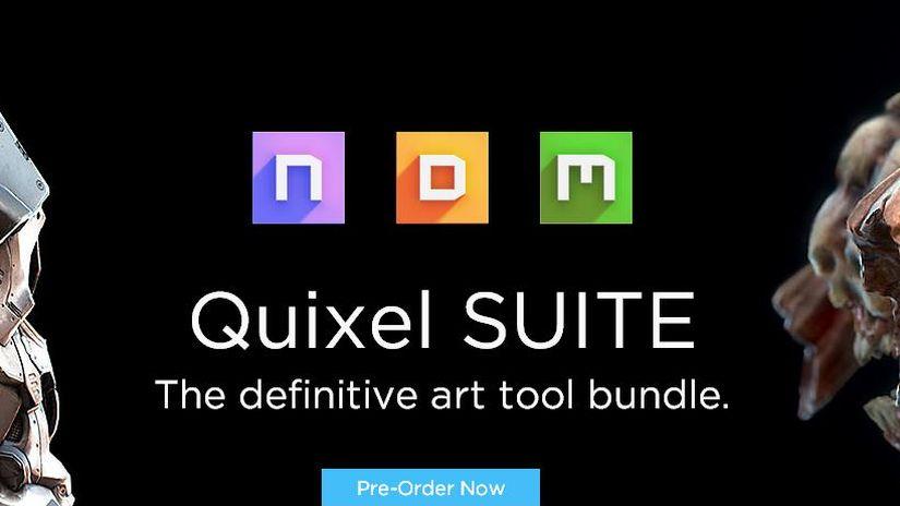 Quixel aggiornamento suite e licenze free