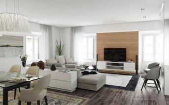 Sitting room in Milan