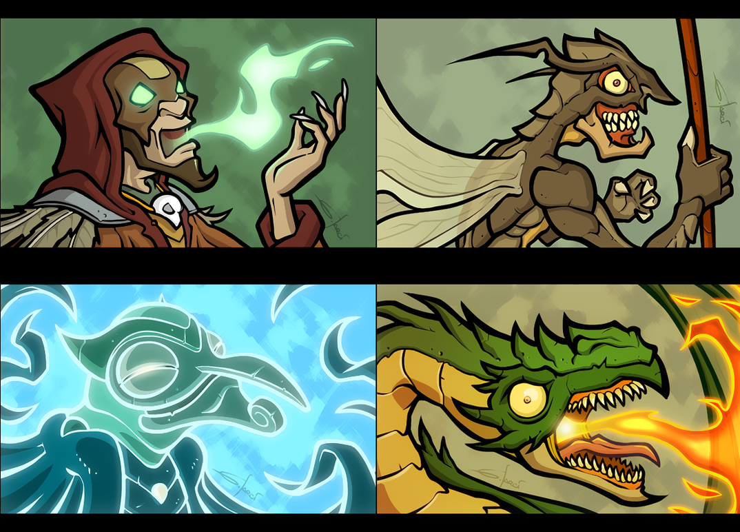 Fantasy creatures