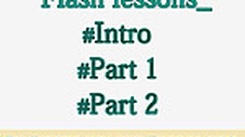 Creare Una Presentazione E Disegnare In Flash