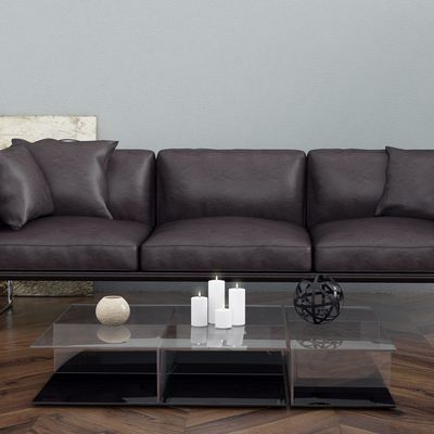 Interior realistic sofa render