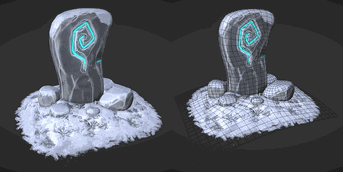 Icy Summoning Stone