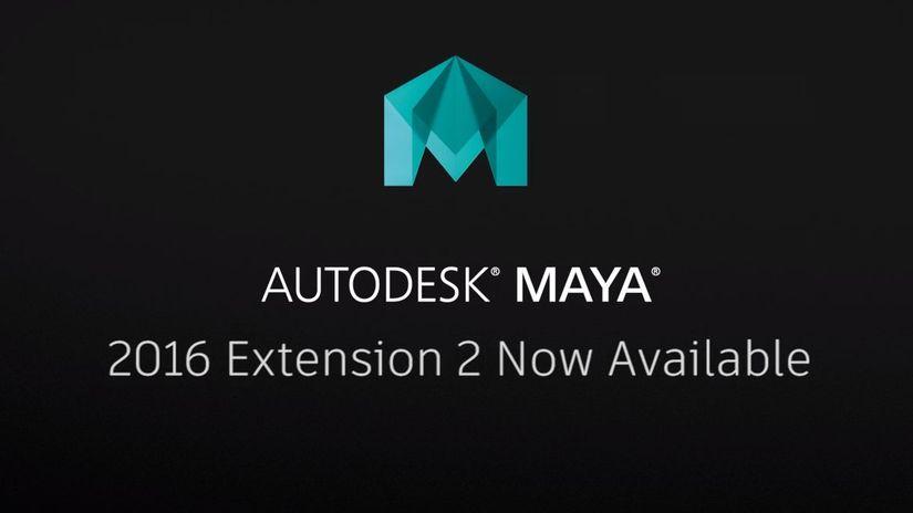 Autodesk Maya 2016 Extension 2