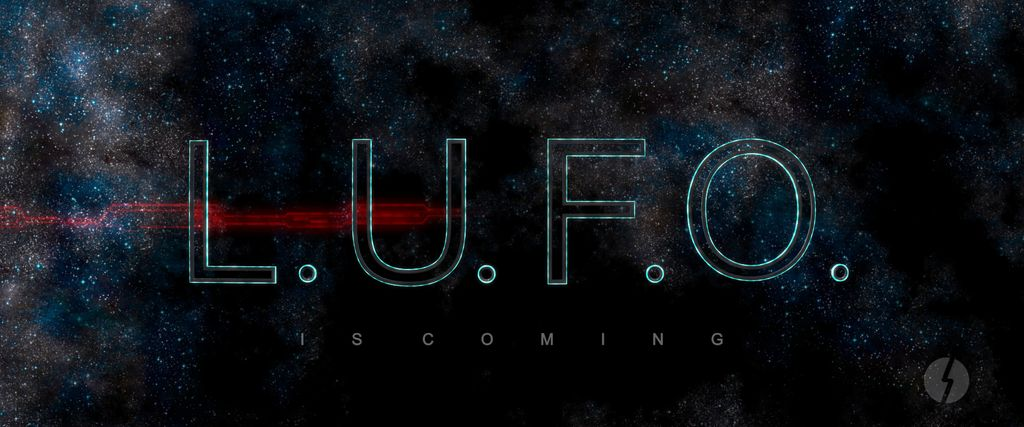 L.U.F.O. IS COMING - First Logo Clip