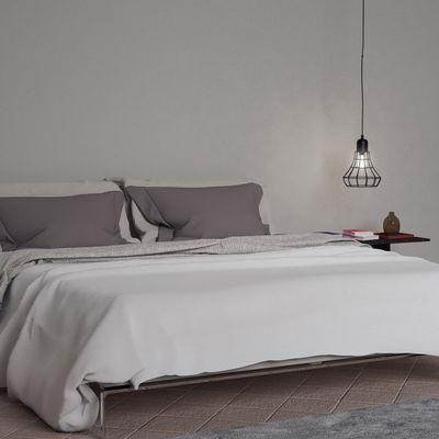 Interior realistic bed designed by Piero Lissoni