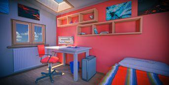 3D Toon - Bedroom
