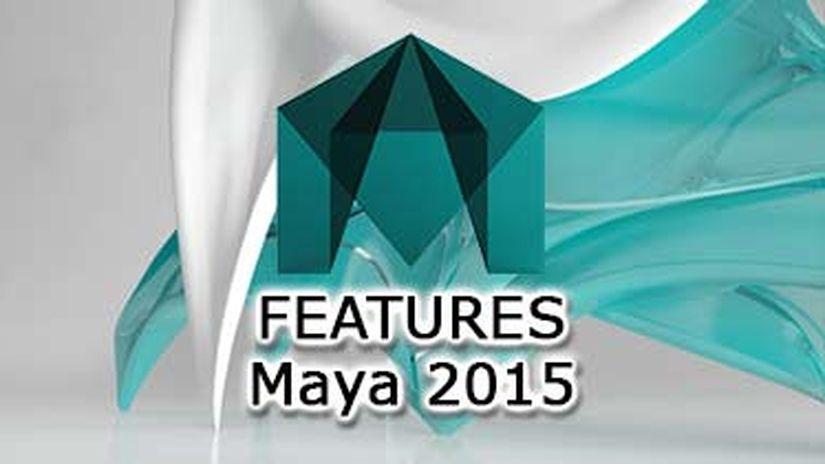 Maya 2015 Preview