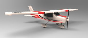 Cessna 152 (Low Poly)