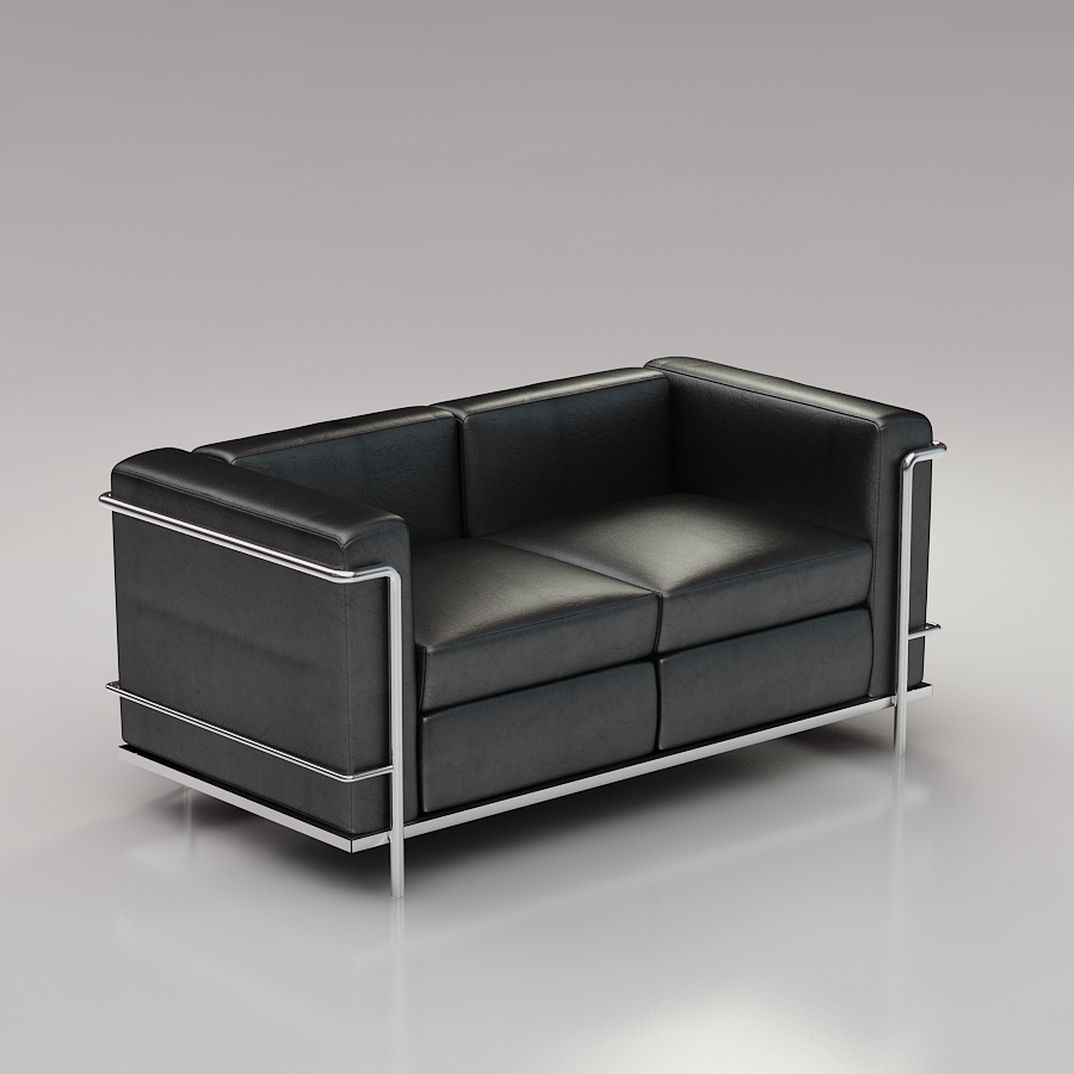 Le corbusier 3d furniture collection 3dfurniture for D furniture galleries closing