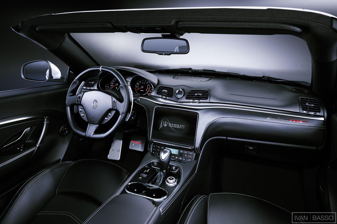 Maserati GranCabrio MC Interiors