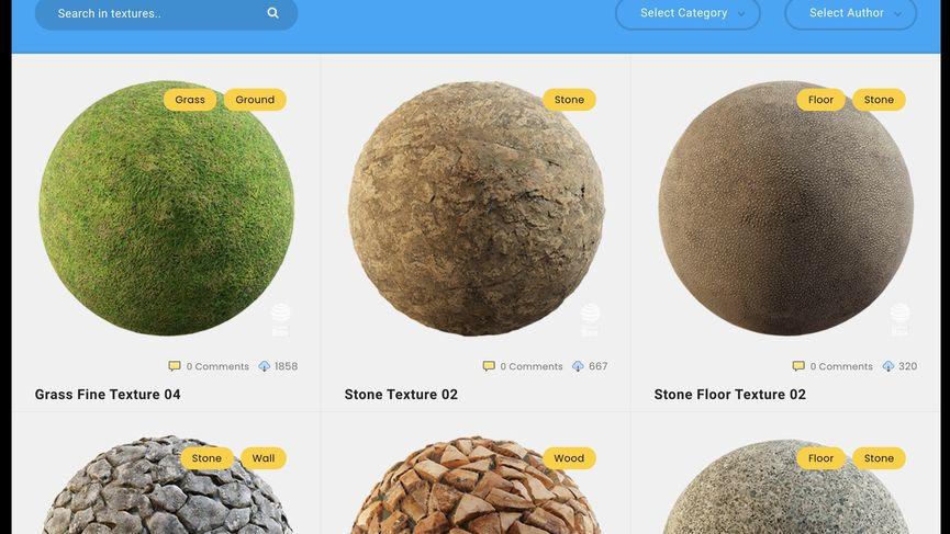 Texture Box: materiali PBR 4k gratuiti