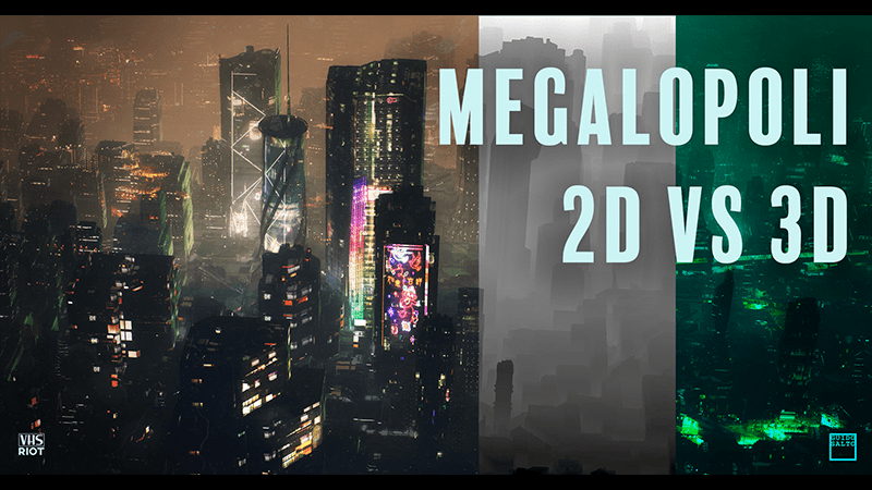 Costruire megalopoli alternando i due medium