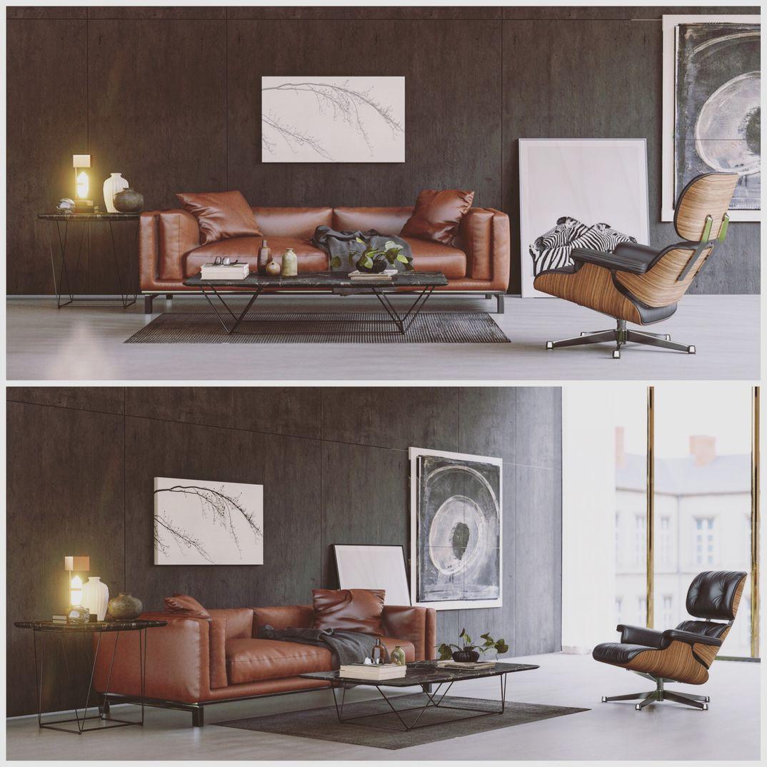 Personal sofa Lumion 8