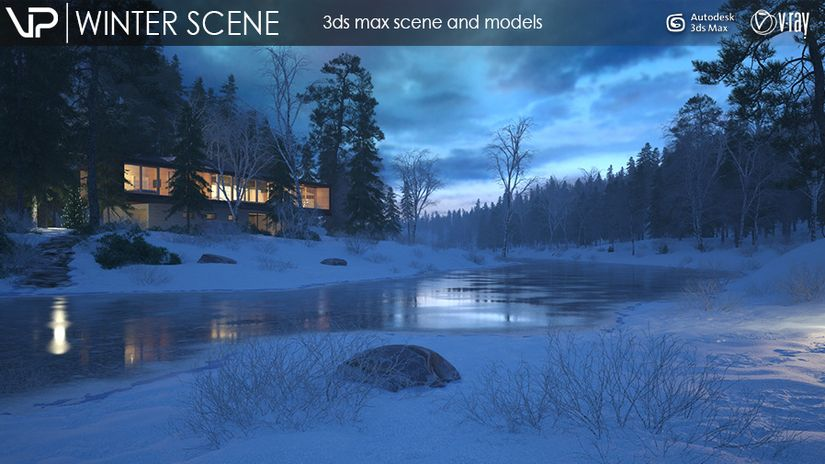 VizPark - Winter Scene Free