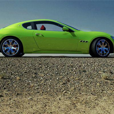 Maserati Gt Green View