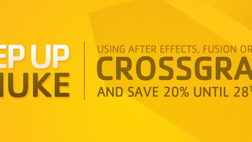 Nuke scontato del 20% per gli utenti di After Effects, Fusion o Shake