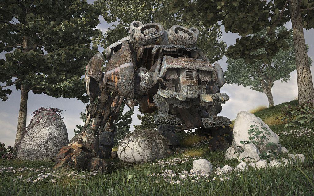 The Rusty Quadbot