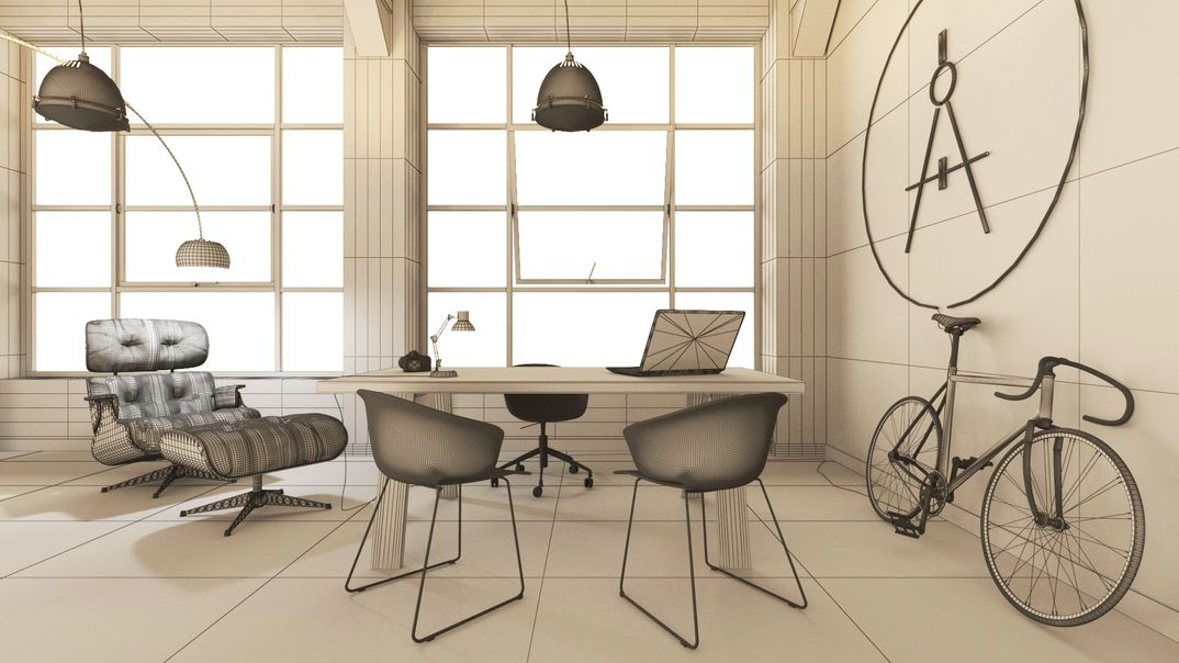 Interior render -  MyOffice2018