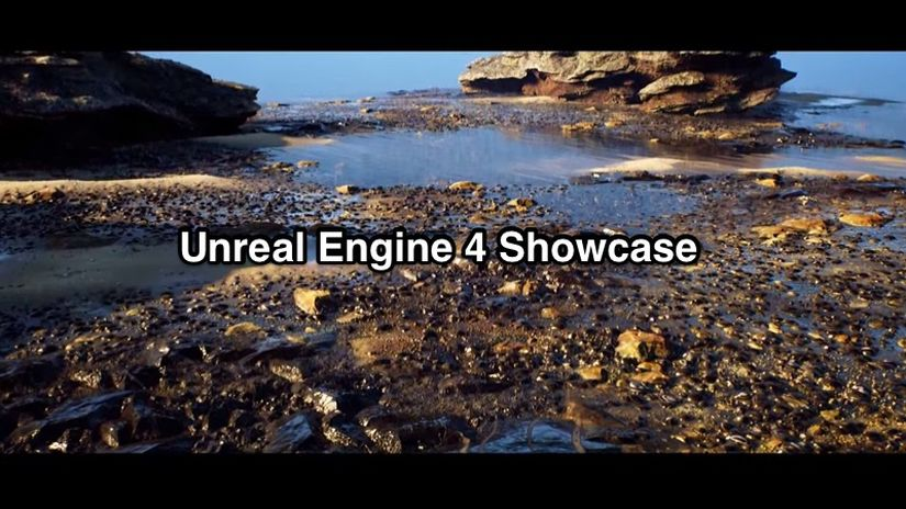 Unreal Engine 4 e Substance Designer showcase