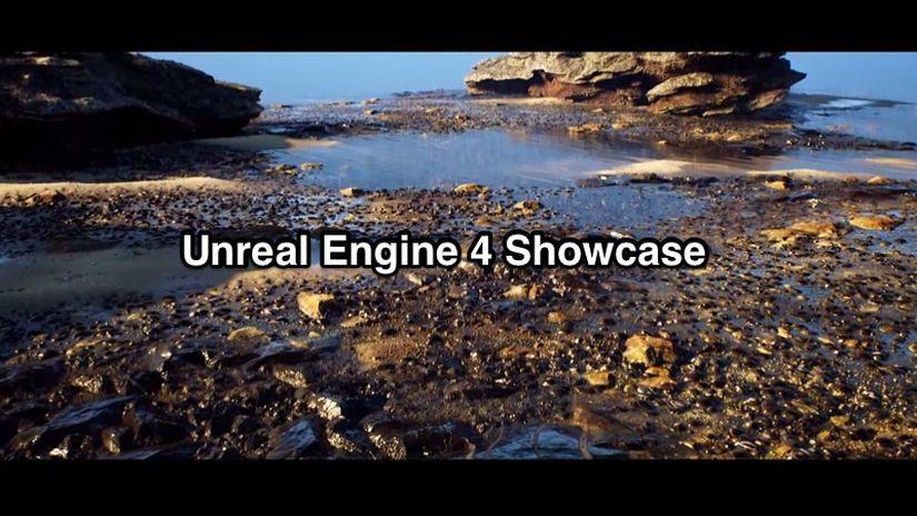 Unreal Engine 4 e Substance Designer showcase