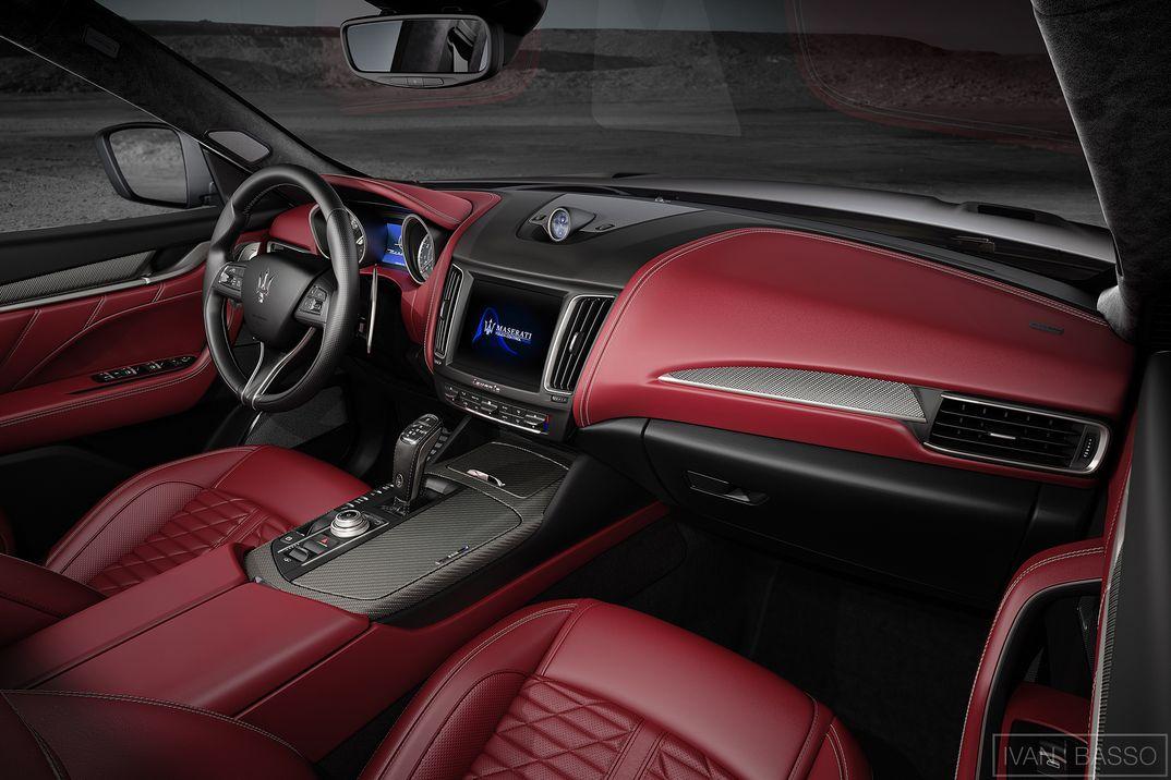 Maserati Levante Interiors (1/2)