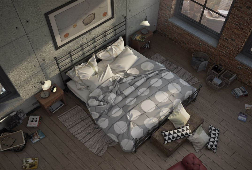 Bedroom challange + Marvelous