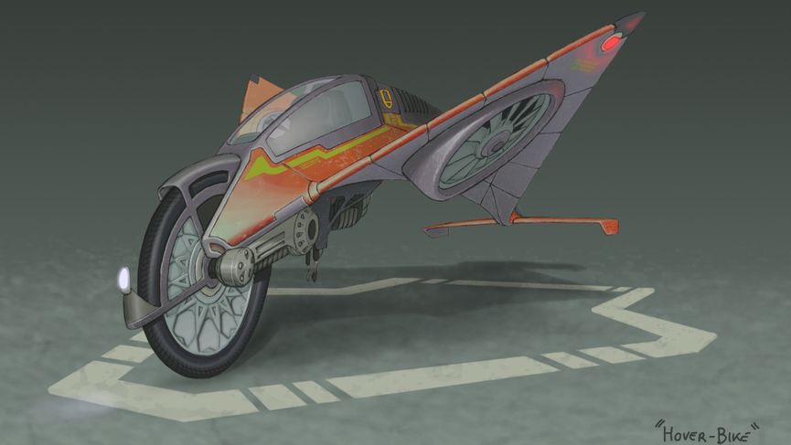 "Making Of - Hover-Bike: ""Compromised"""