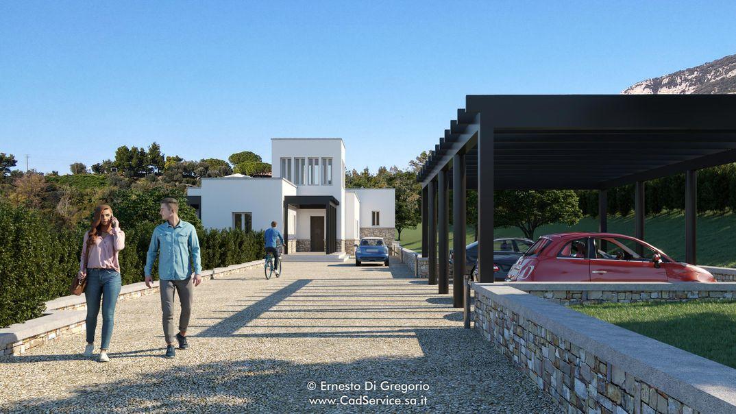 Villa a Paestum (SA)