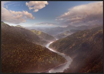 Matte Painting - River