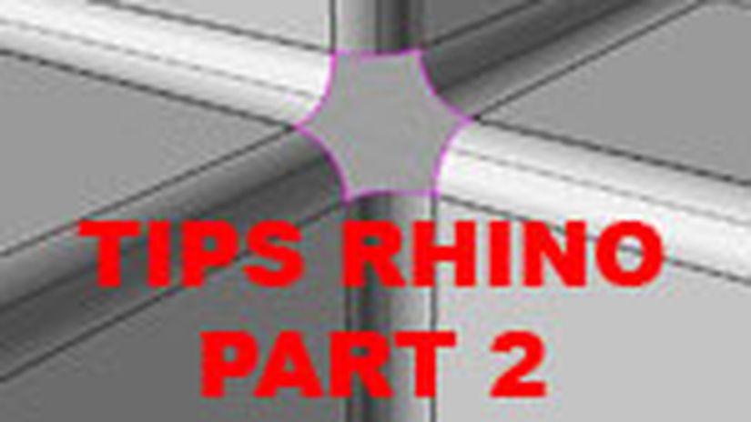 Tips&tricks Rhinoceros Part Ii