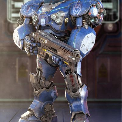 Umojan Guard unit da SC2.