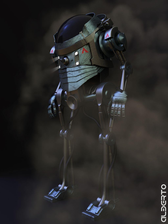 Landfall robot