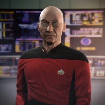 Jean-luc Picard (patrick Stewart)
