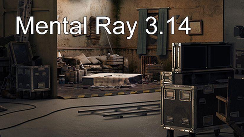 Mental Ray v3.14 per Maya